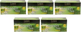Lemor Lemon Green Tea (5 pack of 25 Tea Bag)
