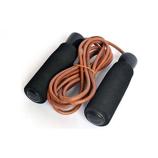 Kobo Leather Jump Rope (Brown)