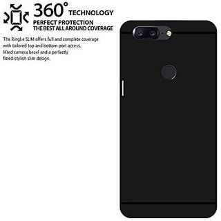 the best attitude 52331 e3d91 OnePlus 5T Back Cover For Complete Protection Of Phone (Black)