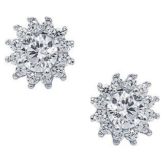 CS Jewellers Nerve Silver Earring