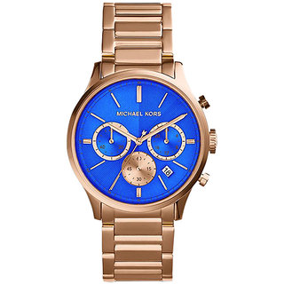 MICHAEL KORS BAILEY ROSE GOLD-TONE CHRONOGRAPH UNISEX WATCH MK5911
