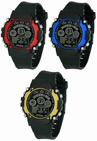 Sports Digital Pack of 3 Watch for Boys  Kids