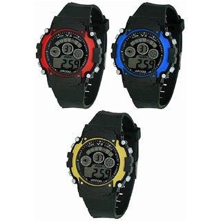 f6b2485b8 No Brand Round Dial Black Rubber Mechanical Kids watch. Rs. 279