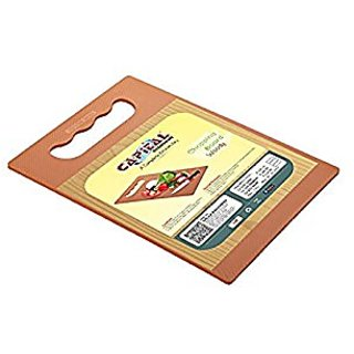 Rewa Kitchenware Vegetable and Fruit Chopping Board and Cutting Board (Woody)