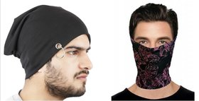 Bandana + Beanie Combo For Men's by Fashion Trend
