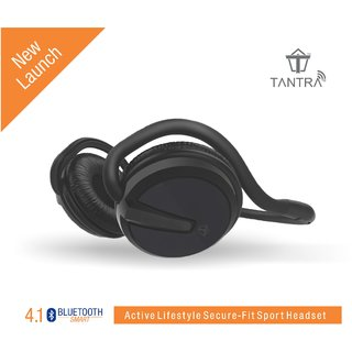 Tantra GROOVE Folding Bluetooth 4.1 Wireless Headphone on-Ear Ultra-Portable Stereo Headset with up to 25 hours of talk and play back music