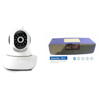 Mirza Wifi CCTV Camera and Box-2 Bluetooth Speaker for MICROMAX CANVAS MEGA 4G(Wifi CCTV Camera with night vision |Box-2 Bluetooth Speaker)