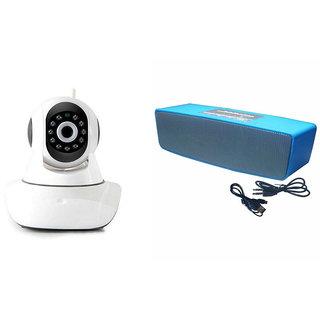 Mirza Wifi CCTV Camera and Box-2 Bluetooth Speaker for MICROMAX CANVAS FIRE 4G+(Wifi CCTV Camera with night vision |Box-2 Bluetooth Speaker)