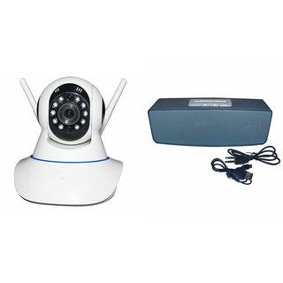 Mirza Wifi CCTV Camera and Box-2 Bluetooth Speaker for HTC ONE MINI 2(Wifi CCTV Camera with night vision |Box-2 Bluetooth Speaker)