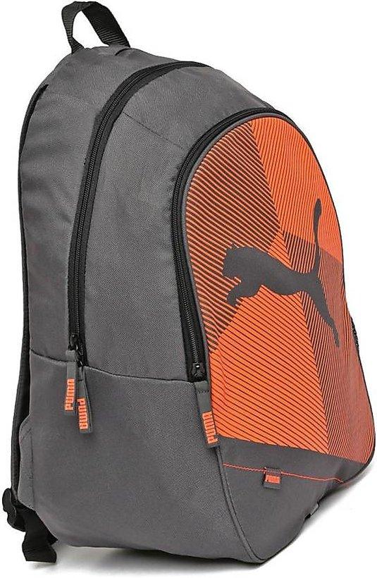 d6810782eb Puma Echo Plus 3 L Backpack (Grey-Orange)  Buy Puma Echo Plus 3 L ...