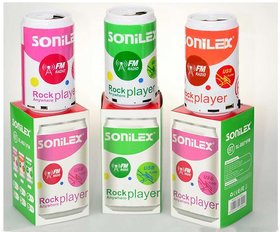 OGM Can Shape SONILEX BLUETOOTH SPEAKER USB DRIVE, MEMORY CARD, FM RADIO PLAY MP3 SL-BS71FM