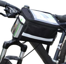 Futaba Bicycle Front Frame BasketTube Bag