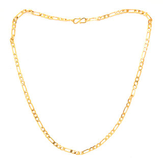 Gold Plated Chain For Men by Sparkling Jewellery