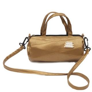 Zokar Women Golden Sling Bag