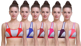 SK Dreams Non- Padded Bras (Pack of 6)