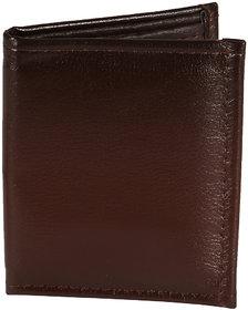 Jack Klein Elegant Brown Leatherette Wallet For Men