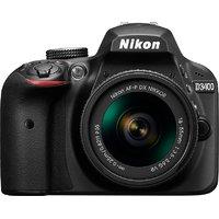 Nikon D3400 DSLR Camera With AF-P 18-55mm ASP VR II Len