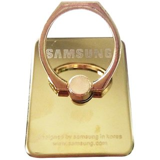 Samsung Android Phone Mobile Ring With Mini OTG Adapter In MultiColor