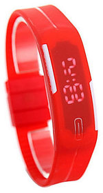 NG Ultra Slim LED Watch - LED Display With Silicon Stra