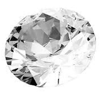 6.50 carat 100 high rated quality white sapphire/safed pukhraj by lab certified