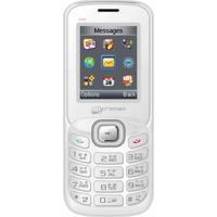 Micromax X088 Plus Dual SIM Basic Phone (White)