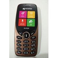 Micromax X1i Pop Dual SIM Basic Phone (Coffee)