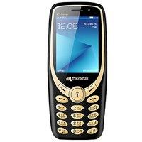 Micromax X1i Power Dual SIM Basic Phone (Black)