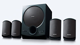 Sony SA-D40 4.1 Home Theater System