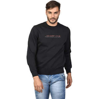TAB91 Men's Prined Round Neck Sweatshirt
