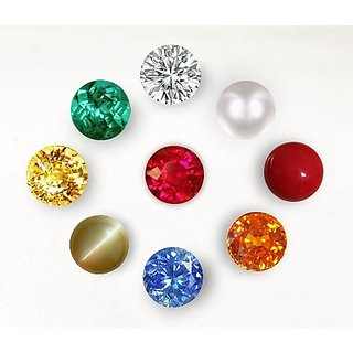 only4you Original Navratna (9) Gemstones (3mm app.) Of Nine Planets
