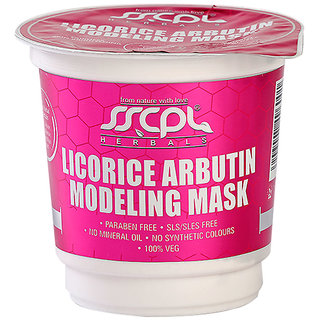 SSCPL Herbals Licorice Arbutin Modeling Mask (25gm)