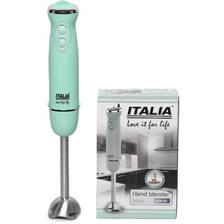 ITALIA IHB-2210 400 Watts 6-speed Turbo Electric Stick hand mixer stainless blender Juicer chopper(Sea Green)