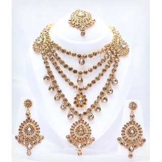 Occational Partywear Necklace Set By FashionKing