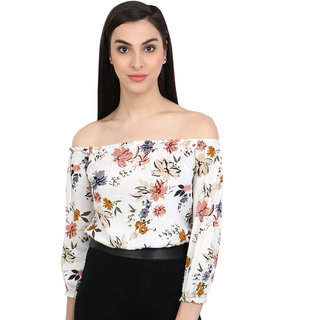 Buy cation womens white floral crop top online get 55 off cation womens white floral crop top mightylinksfo