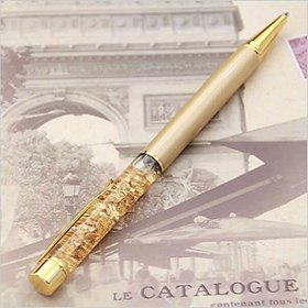 Jaycoknit Le Brizzo'S Gold Premium Metal Collectible Corporate Gift Pen