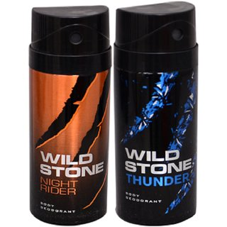 WiLD STONE Night Rider  Thunder (each 150ml) Pack of 2