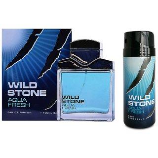 WILD STONE Aqua Fresh Edt  Deo