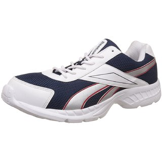 Reebok White Acciomax Lp Running Shoes For Men