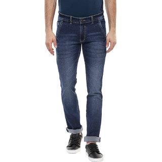 3Concept Men's Blue Slim Fit Jeans