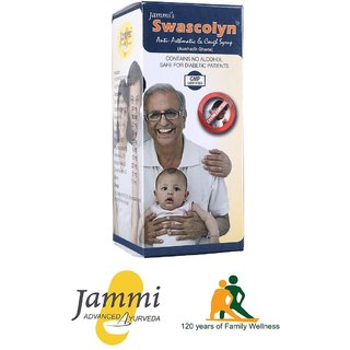 Jammi's Swascolyn  Anti-Asthmatic And Cough Syrup 100 ml