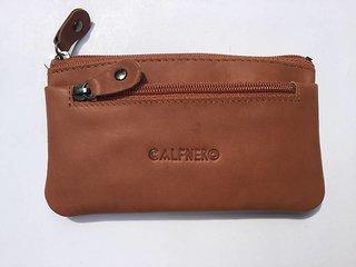 Calfnero Genuine Camel Leather Key Case