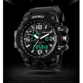 Skmei AD1117 Black Analog-Digital Multicolor Dial Mens Watch.
