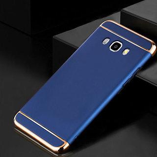 pretty nice e91cb 72343 NEW Luxury 3 IN 1 Matte Finish Hybrid Back Case Cover FOR SAMSUNG GALAXY J7  PRIME (BLUE)
