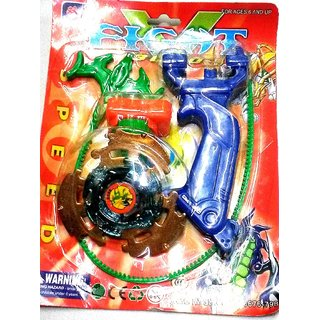 Beyblade with Sharp Metal Edge ( Multicolor ), Size- 13/8 cm