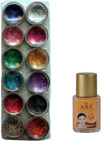 Adbeni 12 in 1 Glitter Powder and Foundation