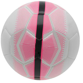 Mercurial White/Pink Football (Size-5)