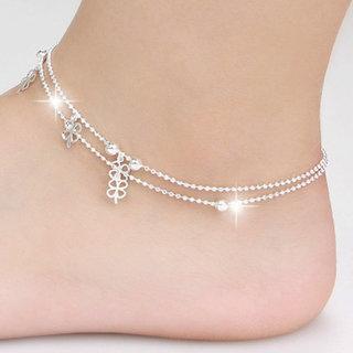 Elegant Silver Anklet