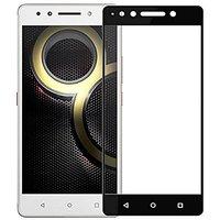 Tempered Glass For Lenovo K8 Plus Full Screen Black Col