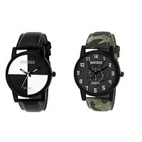 Gen-Z Combo Of 2 Youth Chess And Army Watches