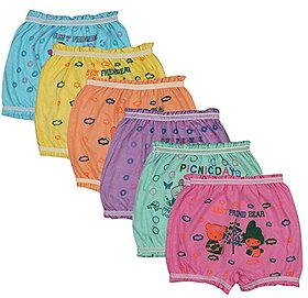 Beunew multicolor printed Bloomer panty for boys and girls(Pack of 6)